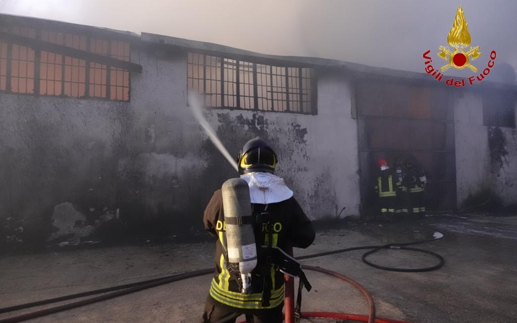 MONTORO – INCENDIO OPIFICIO: COMUNICATO DELL'AMMINISTRAZIONE COMUNALE