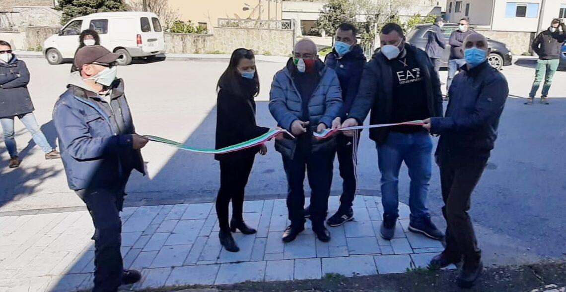 POLICASTRO BUSSENTINO: INAUGURATO L'INFOPOINT GAL CASACASTRA