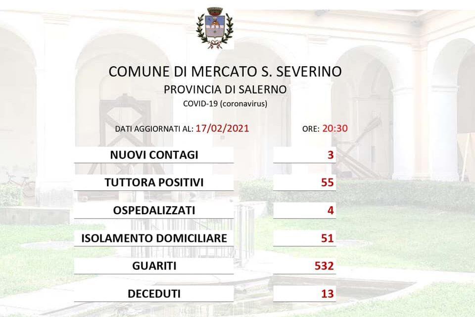 MERCATO SAN SEVERINO – EMERGENZA COVID-19: