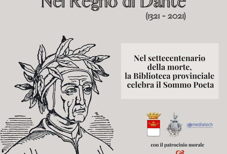 """IRPINIA – """"LE DONNE DI DANTE"""": 8 MARZO INCONTRO ON-LINE PER CELEBRARE LE DONNE E IL SOMMO POETA"""
