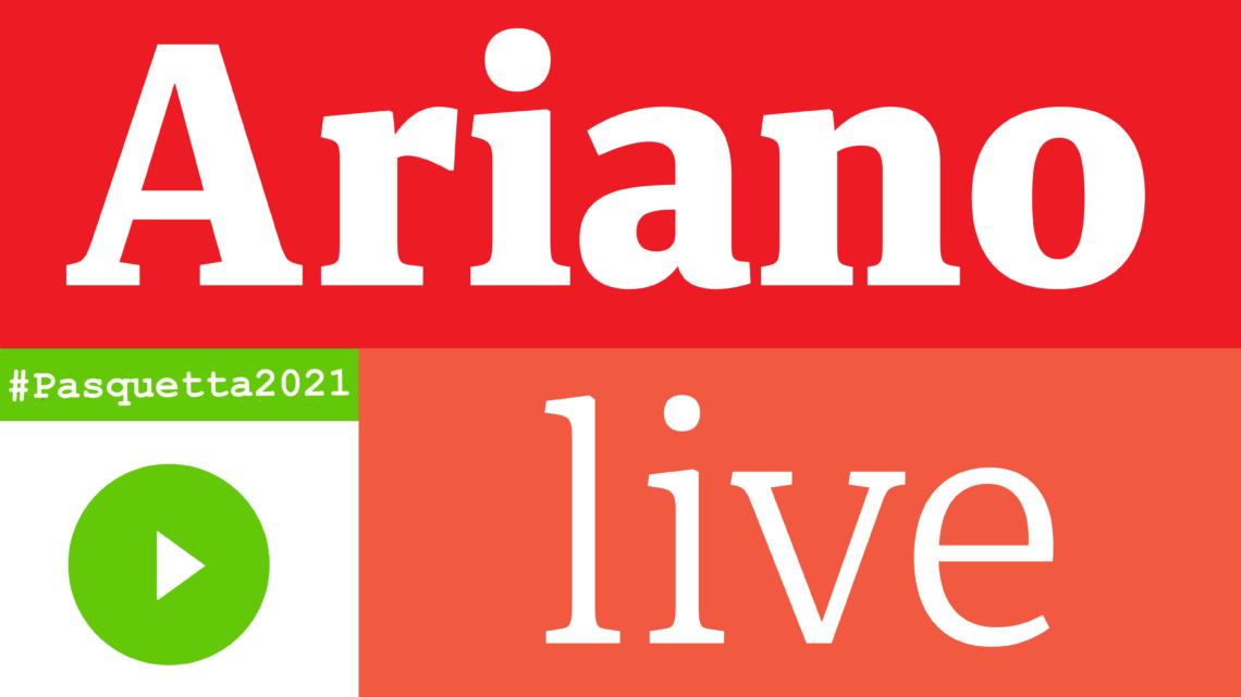 """ARIANO IRPINO – """"PASQUETTA INSIEME"""": EVENTI IN STREAMING DA PAGINA SOCIAL DEL COMUNE"""