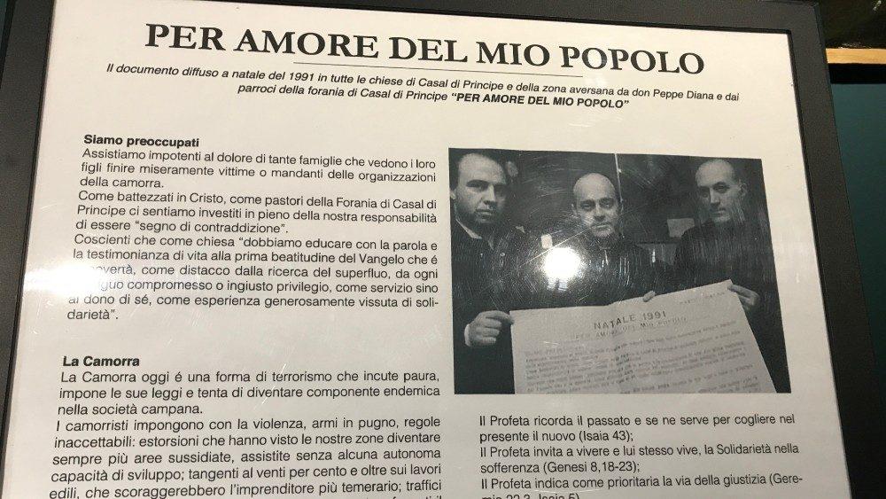 19 MARZO – E' IL 1994 E LA CAMPANIA E' SCOSSA DALL'UCCISIONE DI DON PEPPE DIANA