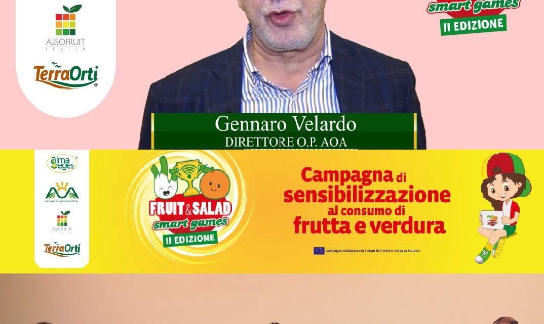 """CAMPANIA – A """"FRUIT AND SALAD SMART GAMES"""" SI PARLA DI PRODOTTI BIOLOGICI"""