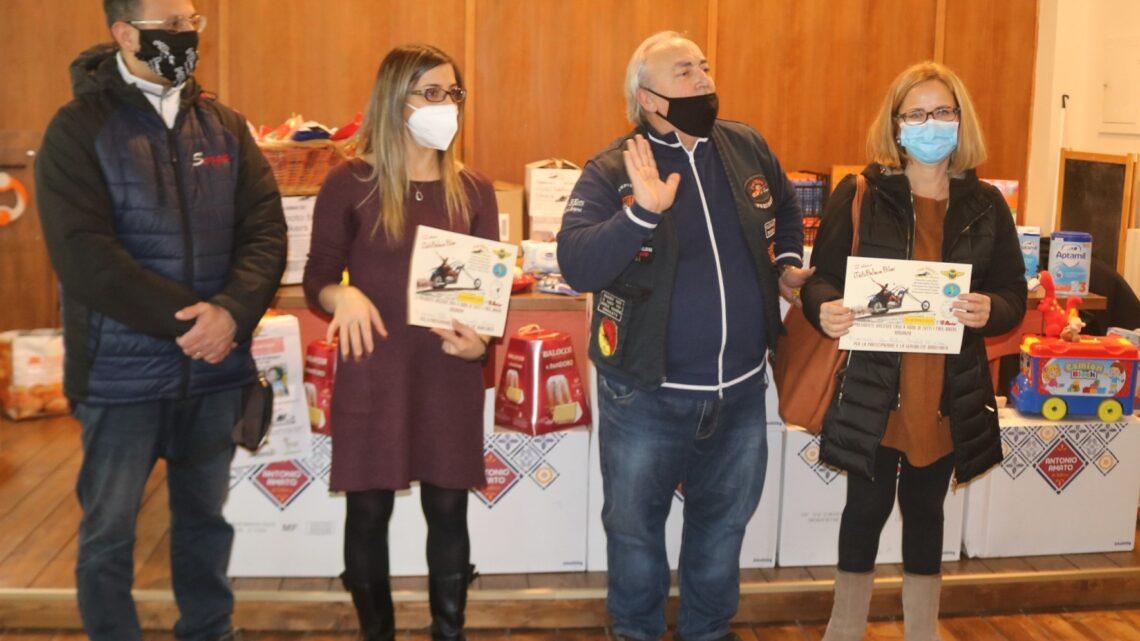 """SALERNO – L'ASSOCIAZIONE """"FREE BIKERS QUELLI DI SEMPRE"""" IN FAVORE DELL'INFANZIA"""