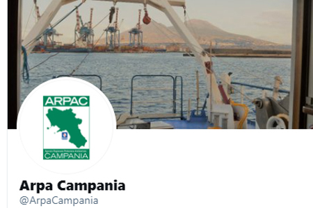 CAMPANIA – @ARPACAMPANIA, L'AGENZIA AMBIENTALE COMUNICA SU TWITTER