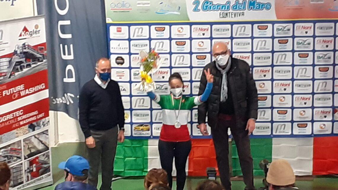 ATLETICA – LUCIA NONBIS CAMPIONESSA ITALIANA DI PARACICLISMO