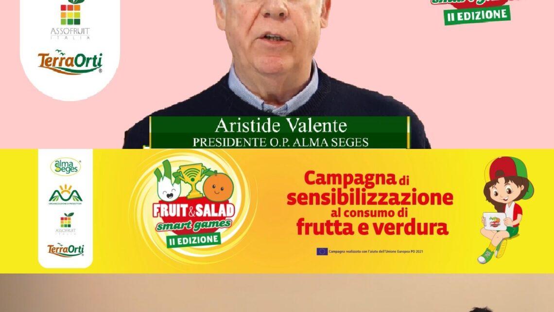 CAMPANIA – A FRUIT & SALAD SMART GAMES FOCUS SU VEGANO E VEGETARIANO