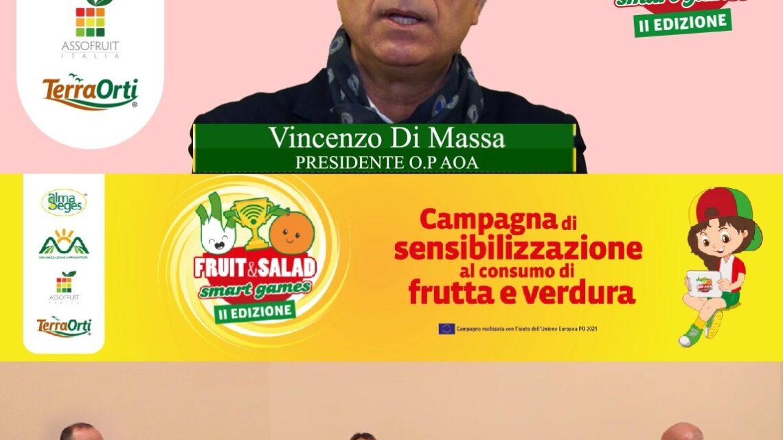 EVENTI – POMODORO PROTAGONISTA DI FRUIT & SALAD SMART GAMES