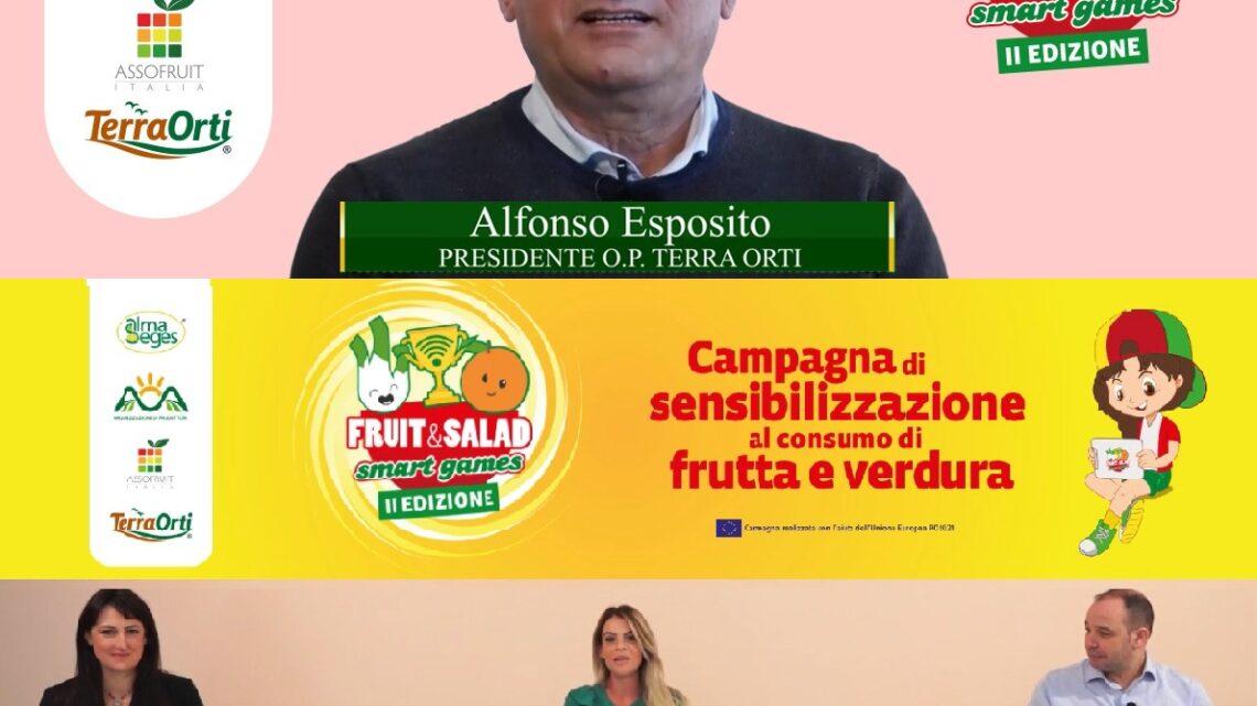 CAMPANIA – A FRUIT & SALAD SMART GAMES SI PARLA DI RUCOLA CON ALFONSO ESPOSITO