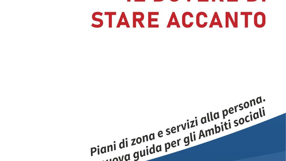 """SISTEMA INTEGRATO SERVIZI SOCIALI, """"IL DOVERE DI STARE ACCANTO"""": IL NUOVO LIBRO DI SALVATORE GIARGIULO"""