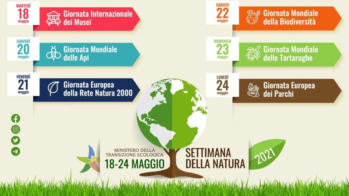 """EVENTI – 18-24 MAGGIO 2021: PARTE LA """"SETTIMANA DELLA NATURA"""""""