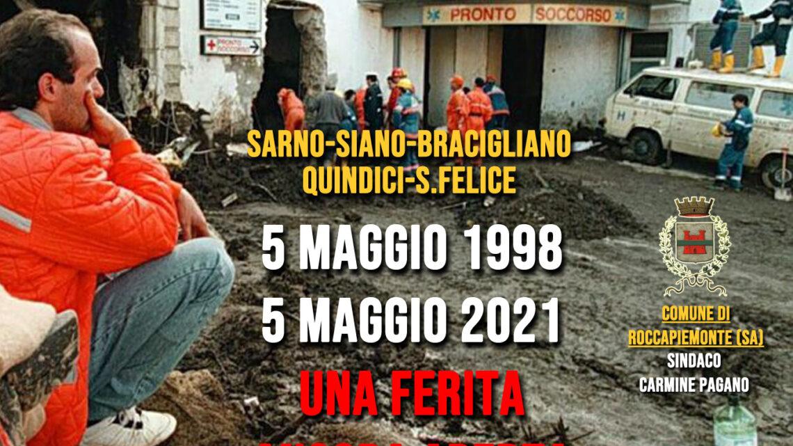 """ROCCAPIEMONTE – FRANA DEL 5 MAGGIO 1998, PAGANO: """"UNA FERITA ANCORA APERTA"""""""