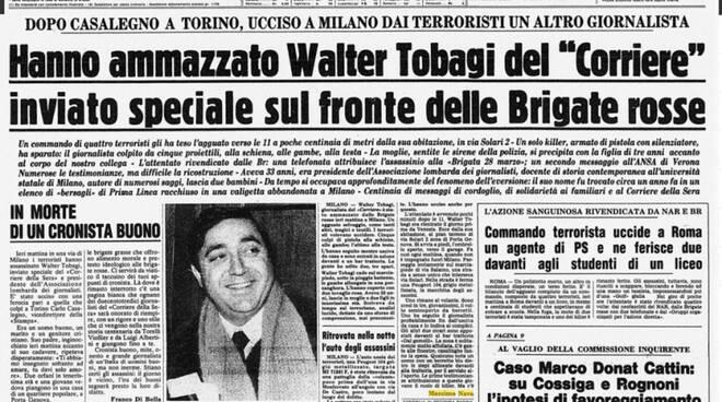 28 MAGGIO – LE BRIGATE ROSSE UCCIDONO WALTER TOBAGI