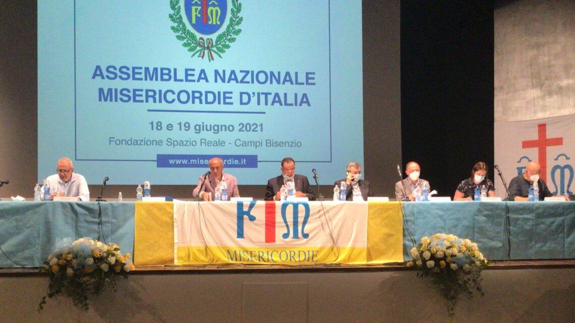 CAMPANIA – CONFEDERAZIONE NAZIONALE MISERICORDIE D'ITALIA: REGIONE RAPPRESENTATA DA ACAMPORA E CURCIO