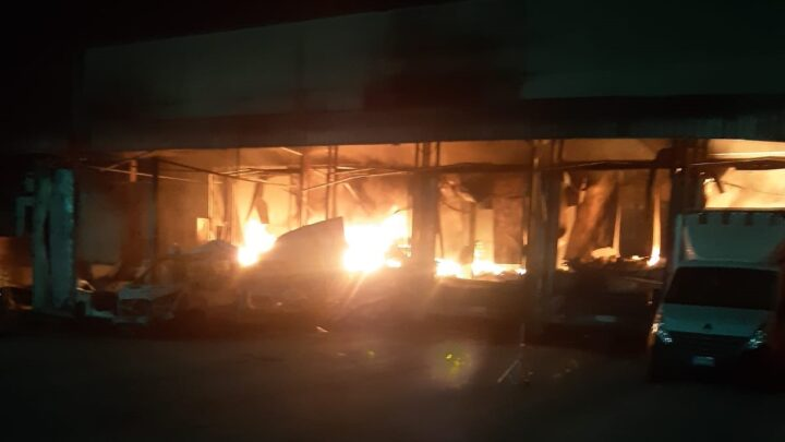 "SAN MARCO EVANGELISTA – INCENDIO, ARPAC: ""IN ATTESA DEI DATI DEL CAMPIONAMENTO"""
