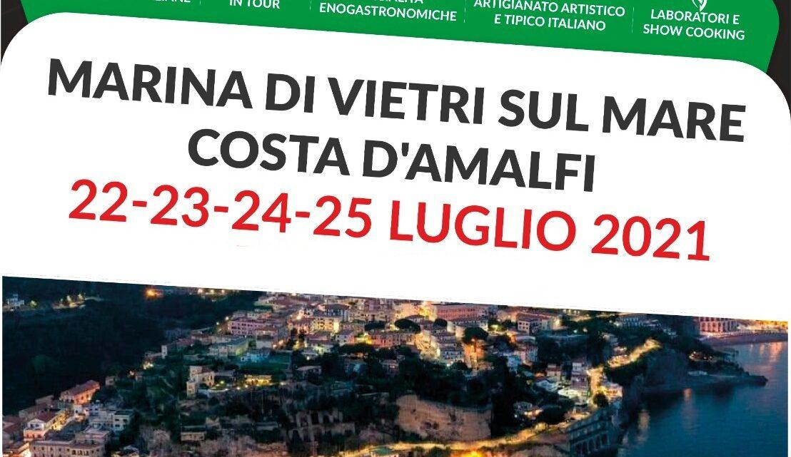 """CAMPANIA – """"GUSTO ITALIA IN TOUR"""" FA TAPPA A VIETRI SUL MARE"""