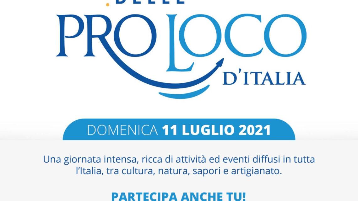 EVENTI – GIORNATA NAZIONALE DELLE PRO LOCO D'ITALIA: L'UNDICI LUGLIO LA IV EDIZIONE
